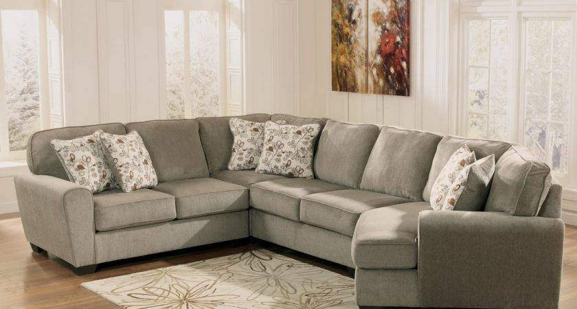 Patina Piece Small Sectional Right Cuddler