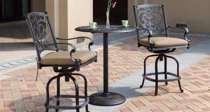 Patio Furniture Dining Set Cast Aluminum Round