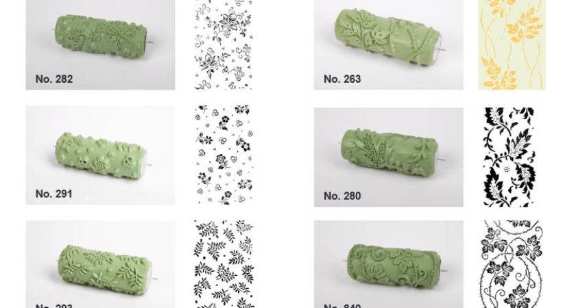 Pattern Paint Rollers Collection New Designs