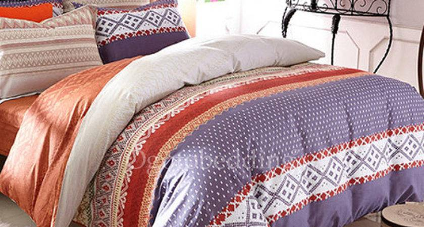 Patterned Unique Colorful Textured Teen Bedding Sets