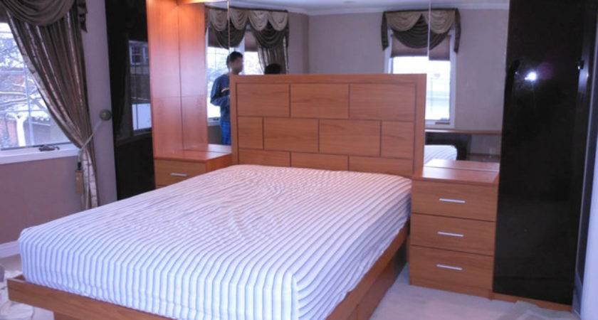 Pier Wall Bed Mirrored Headboard Contemporary
