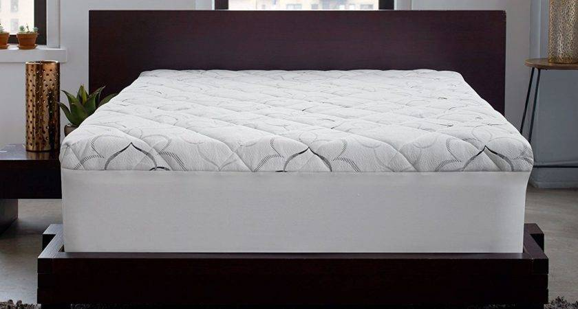 Pillow Bed Topper Reviews Sleep Innovations Instant
