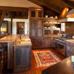 Pin Stephanie Eastwood Log Home Kitchens Pinterest