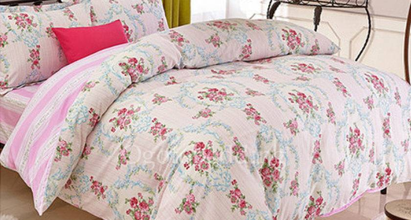 Pink Floral Beautiful High End Unique Teen Bedding Sets