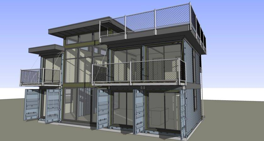 Plans Available Zigloo Custom Container Home Design