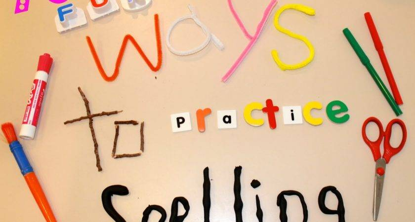 Play Dough Words Form Letters
