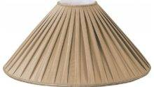 Pleated Coolie Designer Lampshade Traditional Lamp