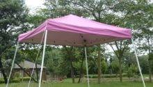 Pop Canopy Tent Pink Aosom