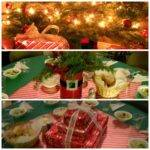 Potpourri Mommy Inexpensive Christmas Party Table