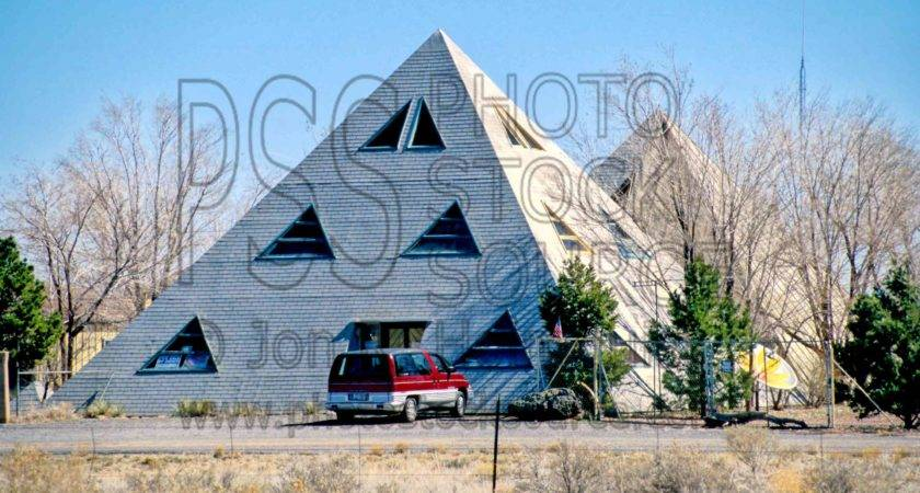 Pyramid House Source Building