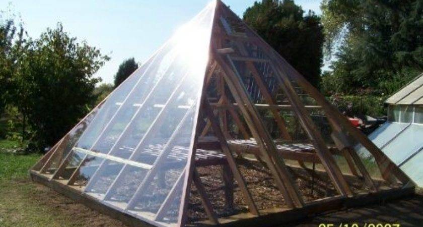 Pyramid Shaped Greenhouse Plans Golden Age Truth