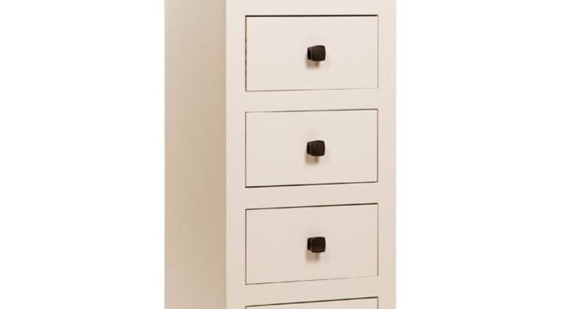 Quebec Drawer Narrow Chest Solid Pine Bedroom