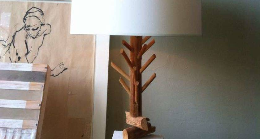 Quirky Twig Plaster Table Lamp Stdibs