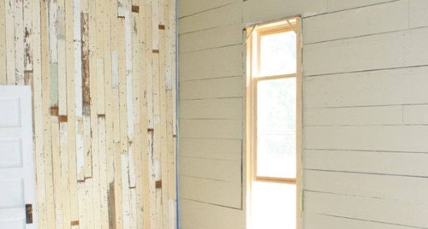 Reclaimed Wood Paint Stain Progress Made Our