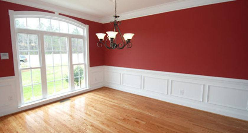 Red Dining Room Paint