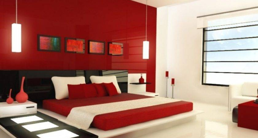 Red Paint Colors Bedrooms Large Beautiful Photos
