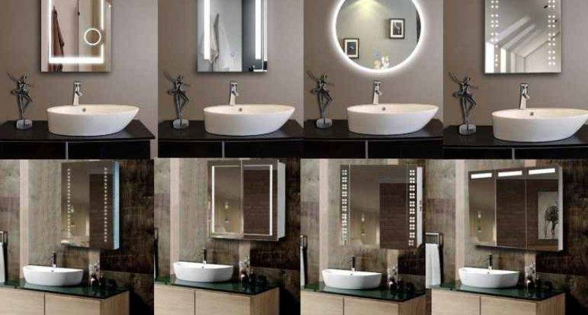 Reliable Led Illuminated Smart Bathroom Mirror