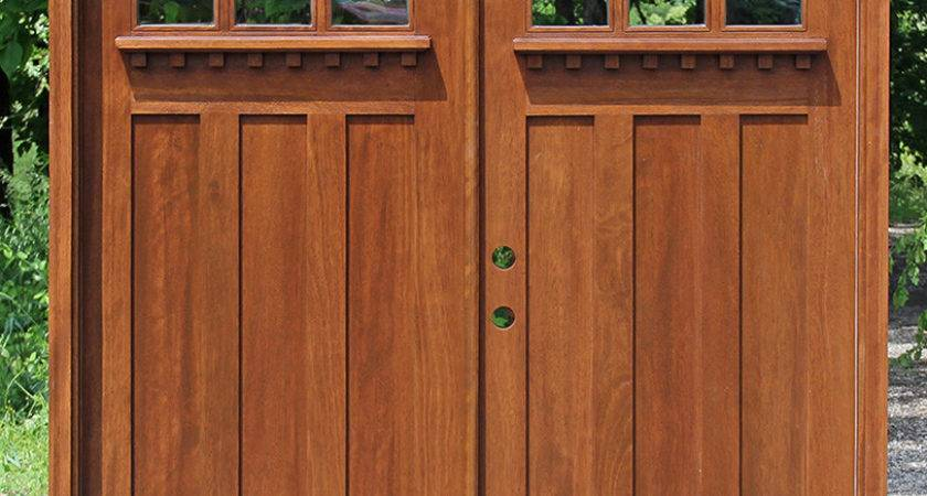 Remarkable Craftsman Double Front Door