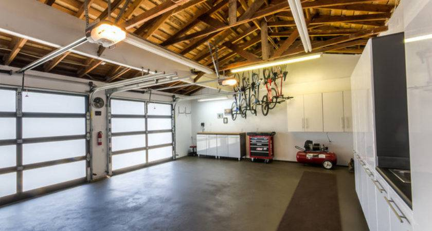 Renovated Garage Contemporary Shed