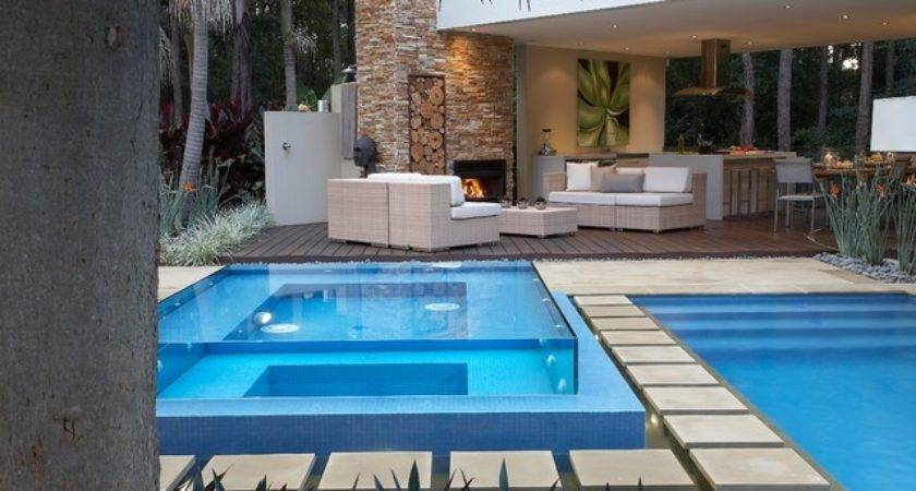 Resort Style Living Contemporary Pool Sydney