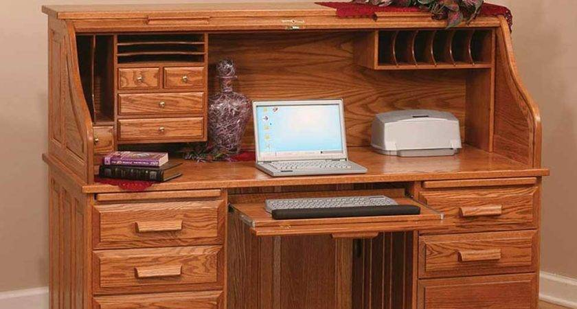 Roll Top Computer Desk Designs Useful