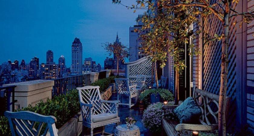 Rooftop Garden Organizing Design Style Concepts