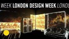 Room Video Mapping Projection London Design Week