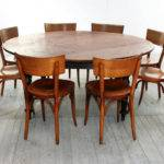 Round Dining Table People