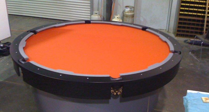 Round Modern Pool Tables Home Ideas Collection Stylish