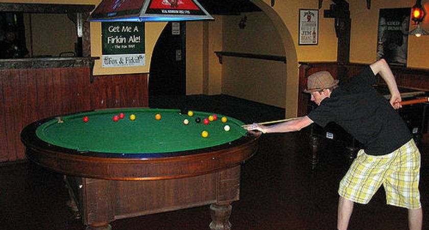 Round Pool Table Flickr Sharing