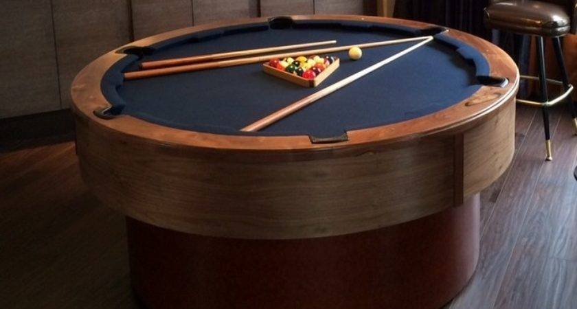 Round Pool Table Home Design