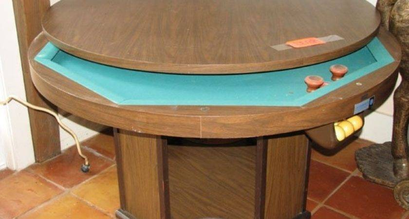 Round Pool Table Large Bumper
