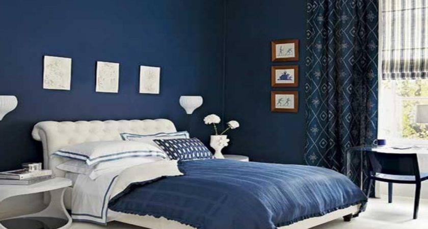 Royal Blue Painted Bed Room Paint Colors