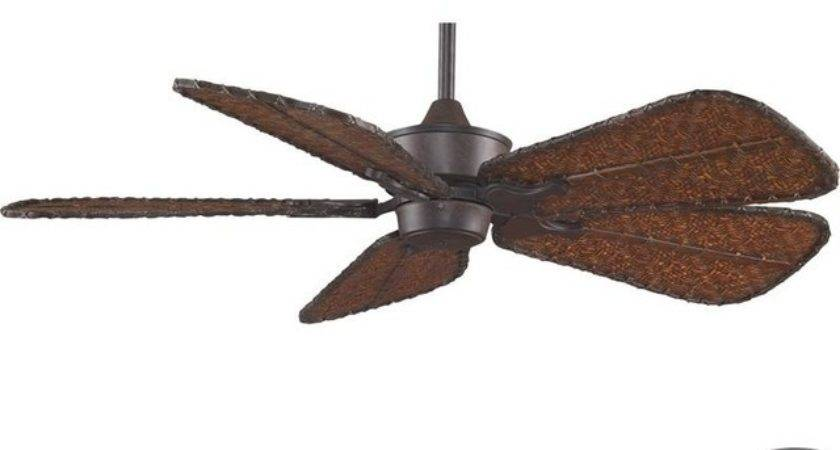 Rust Fan Motor Without Blades Tropical Ceiling