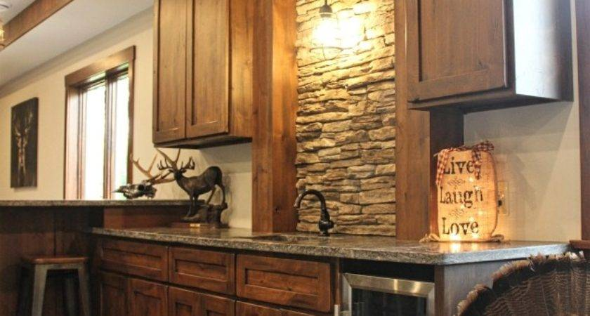 Rustic Alder Cabinets Meadville Fairfield Custom