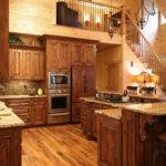 Rustic Cabin Style Kitchen Charlotte