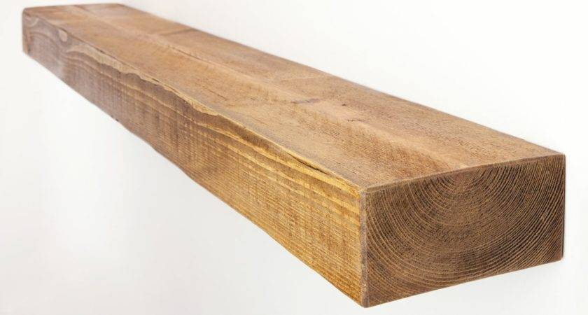 Rustic Floating Shelf Solid Pine Funky Chunky