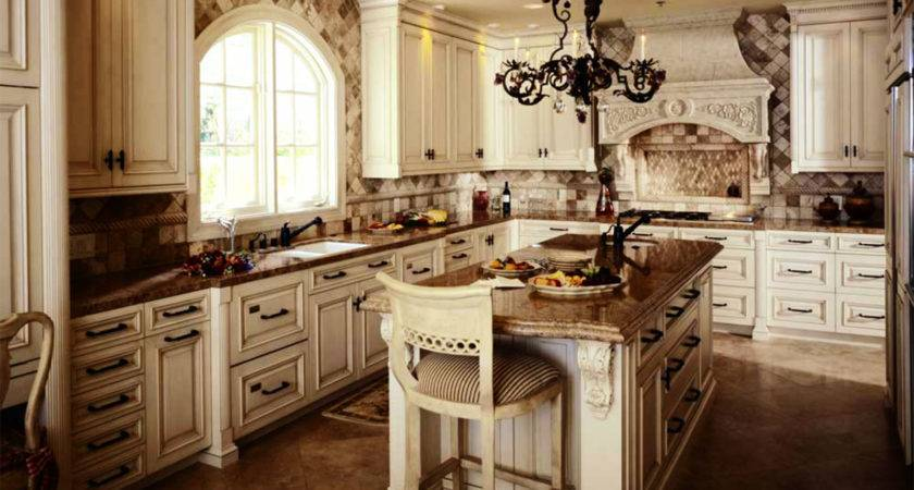 Rustic Kitchen Cabinets Country Style Home