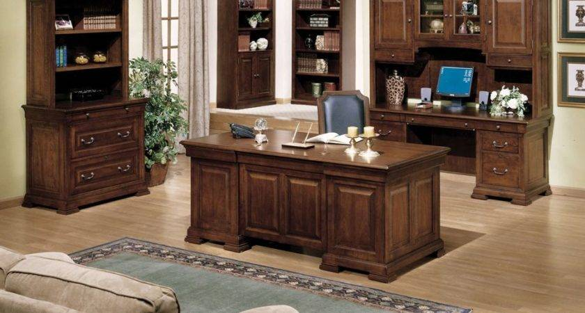 Rustic Theme Elegant Office Furniture Which