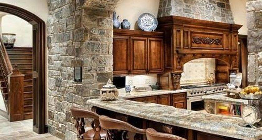 Rustic Wood Country Kitchen Design Decomg