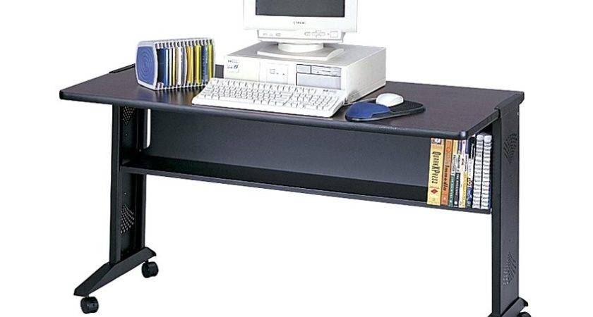 Safco Reversible Top Mobile Work Surface Desk