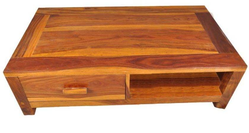 Santa Cruz Mission Multi Coffee Table Cabinet