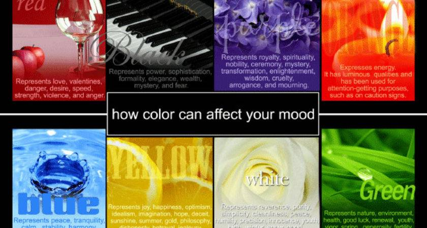 Selecting Right Color Affect Positive Mood