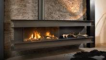 Seno Modern Wall Hung Gas Fire High Efficiency