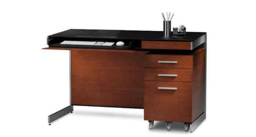 Sequel Compact Desk Three Chairs