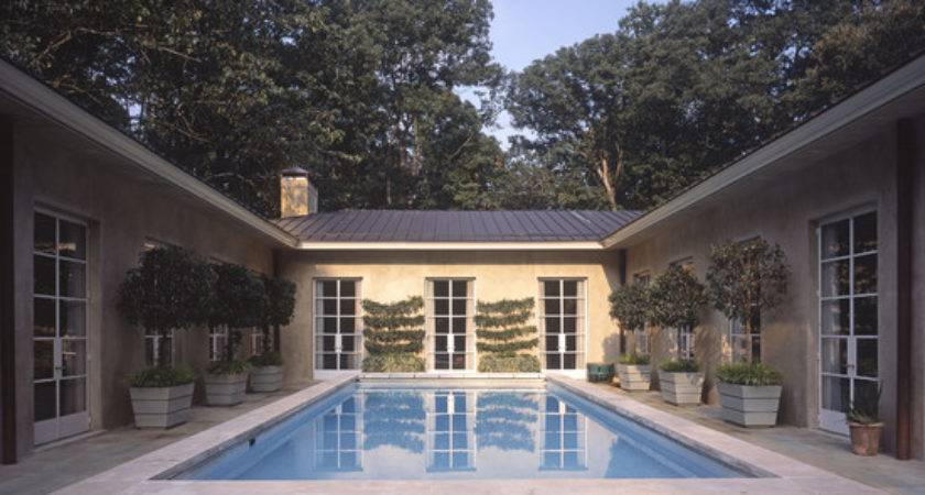 Shaped House Home Design Ideas Remodel Decor