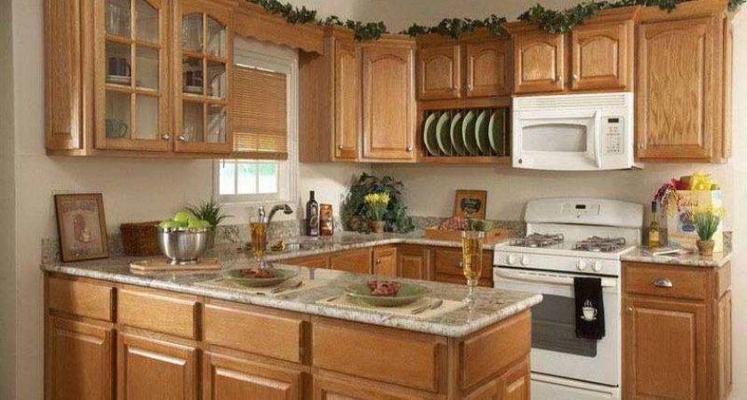 Shaped Kitchen Designs Small Kitchens Efficient Way