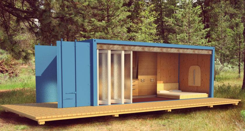 Shipping Container Cabin Montana Collective Sparks