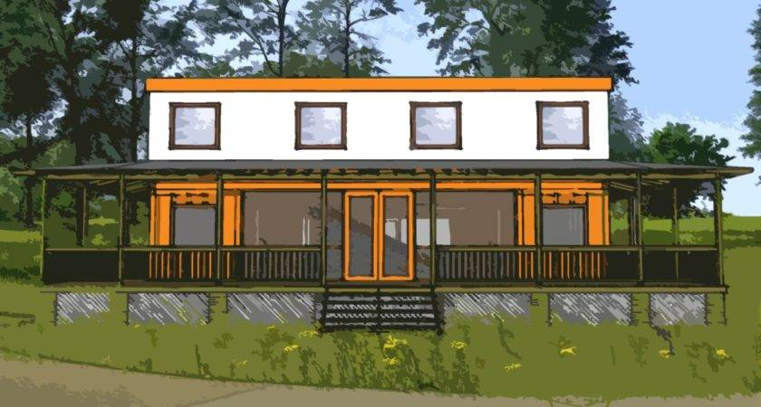 Shipping Container Home Plans Bed Bath Schematic Design