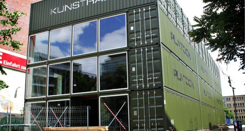 Shipping Container Homes Platoon Kunsthalle Berlin